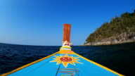 Longtail boat video