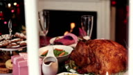 Look on Christmas Dinner video