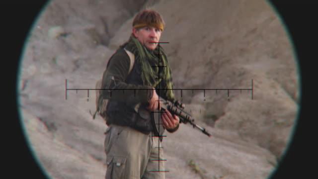 Looking at Patrol Terrorist through Sniper Scope video