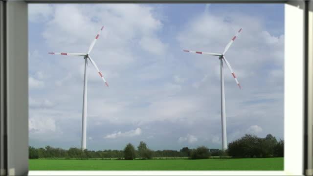 Looking at windmills video