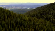 Looking To the Sunset  - Aerial View - Montana, Flathead County, United States video