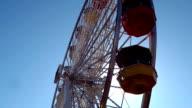 Looking up the Santa Monica ferris wheel video