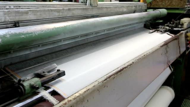 Loom for weaving silk video
