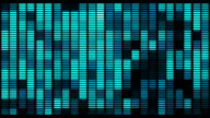 loop Audio equalizer background. Music control levels video