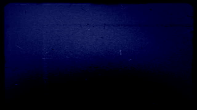 Loop. Grunge Old Film Blue HD video