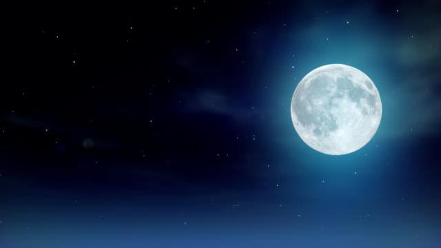 Loop Moon HD 30 Fps video