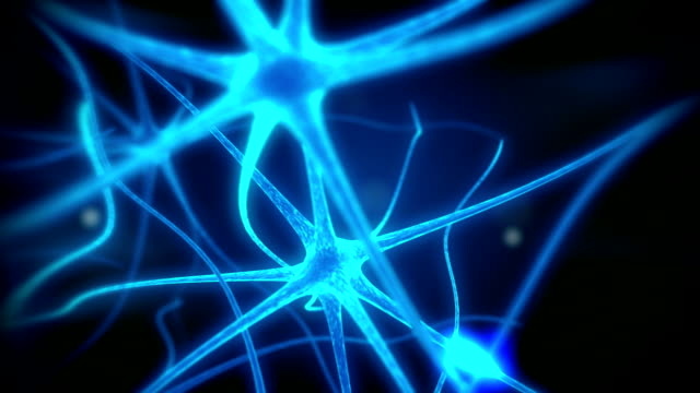 Loop neuron medical animation video