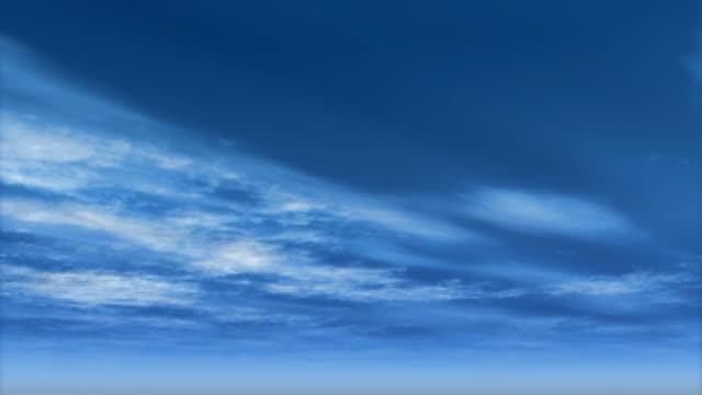 Loop Timelapse Clouds HD video