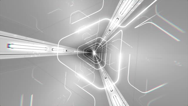 VJ Loop Triangle Tunnel video