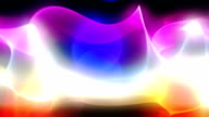 Loopable abstract waves background video