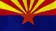 Loopable: Arizona Flag video