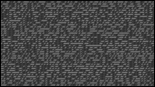 Loopable: Binary Code Wall video