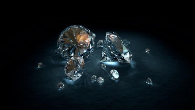 Loopable Brilliant Cut Diamond video