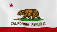 Loopable: California Flag video