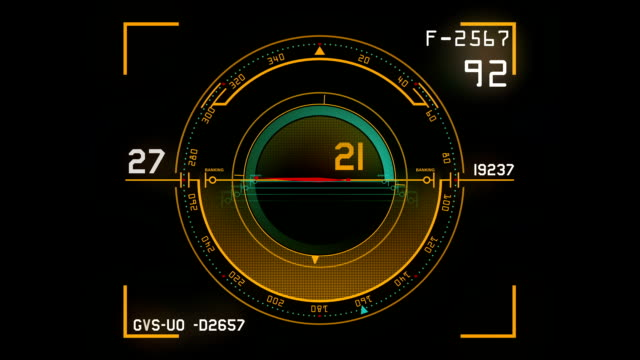 Loopable control panel background video