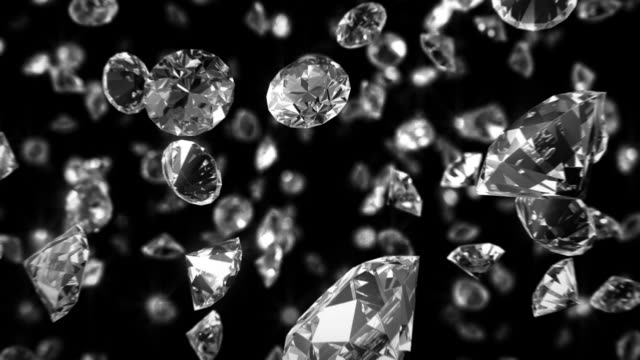 Loopable Diamonds Zoom Background video