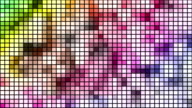 Loopable disco mosaic background video