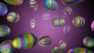Loopable, Falling Eggs for Easter video
