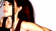 Loopable fashion model backstage v1 video