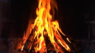 Loopable: Fireplace. 1080P + Audio video