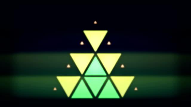 Loopable flash lights video