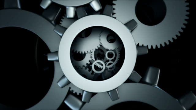 Loopable Gears isolated video