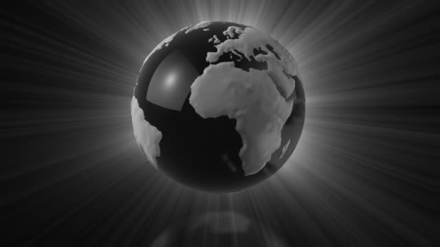 Loopable Glass Globe video