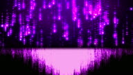 Loopable glitter background,purple background video