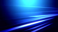 Loopable glossy abstract background in blue video