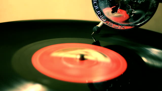 Loopable Grammophone Longplay Disc video