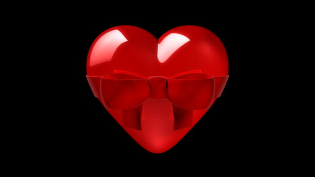 Loopable Heart with Matte video
