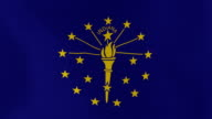 Loopable: Indiana Flag video