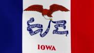Loopable: Iowa Flag video