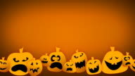 Loopable Jack O Lantern Animation video