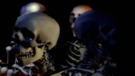 Loopable, Line of Skeletons Interacting video
