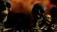 Loopable, Lines of Skeletons Interacting video