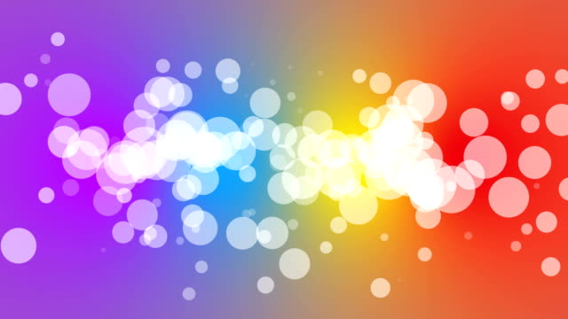 Loopable particles with colourful gradient background 4K video