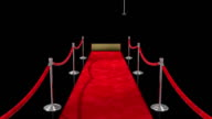 Loopable Red Carpet on Black video