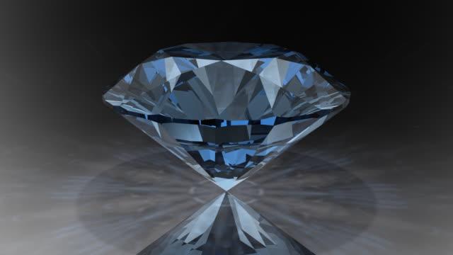 Loopable, Rotating Blue Diamond video