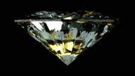 Loopable rotating diamond video