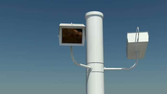 Loopable Security Camera video