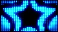 Loopable stars floodlight video