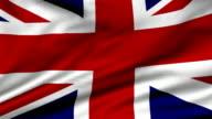 loopable  UK Flag video