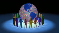 Loopable, United Around the Globe video
