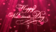 Loopable Vanentine's Day Background video