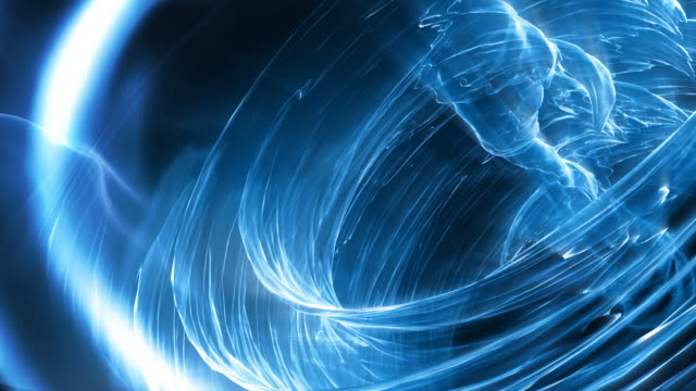 HD - Looping 3D Wave Vortex video