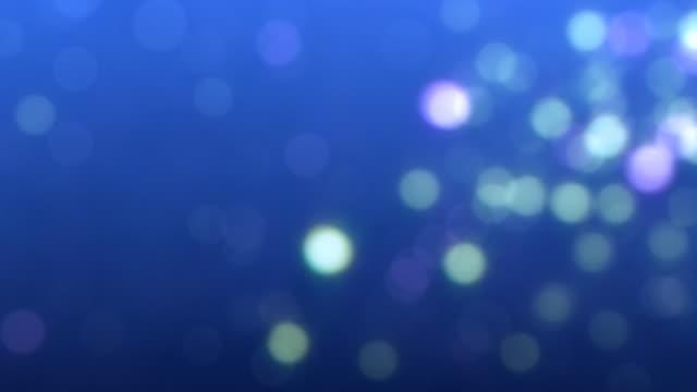 Looping defocussed flickering particles HD1080 24p video