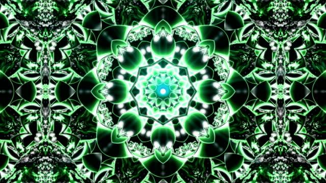 Looping Kaleidoscope Patterns video