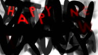 HAPPY NEW YEAR : loose, series 'assemble your message' (LOOP) video
