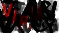 VIRUS : loose, series 'assemble your message' (LOOP) video